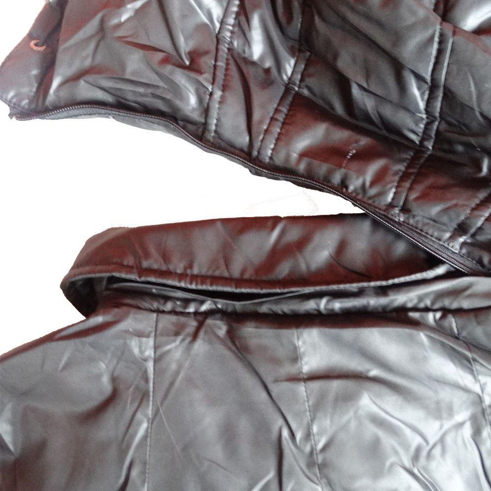 Jaqueta Feminina Impermeável Corta vento Inverno Viagem Exterior Oferta  - Manabana