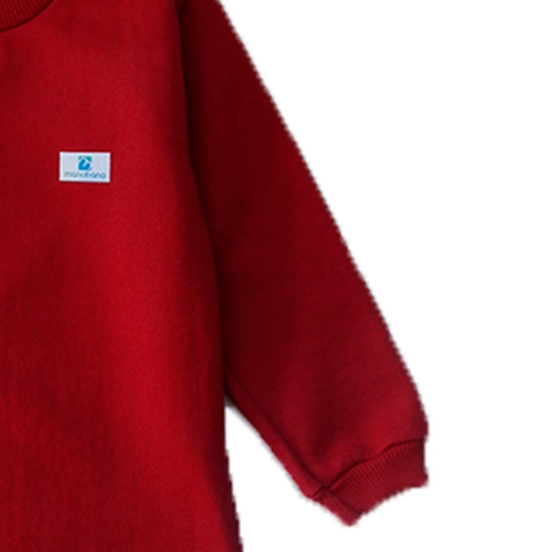 Kit 3 blusas de moletom Manabana flanelado infantil  - Manabana