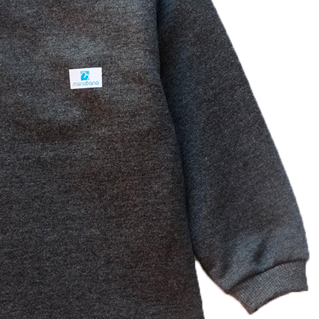Kit 3 blusas de moletom Manabana flanelado infantil juvenil   - Manabana