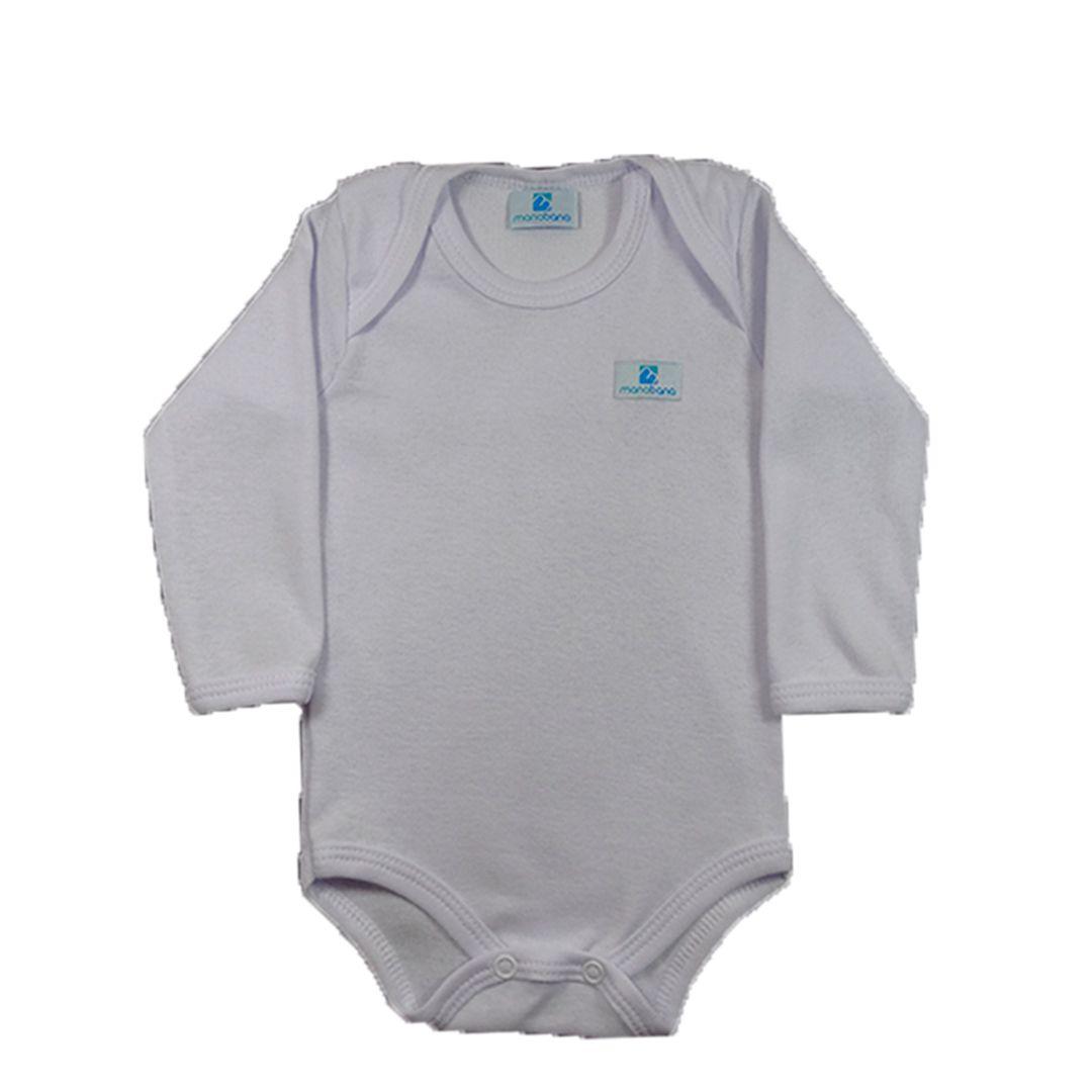 Kit 5 Body Infantil Manabana Menino Bebe Enxoval Bebe 1 A 3 Anos  - Manabana