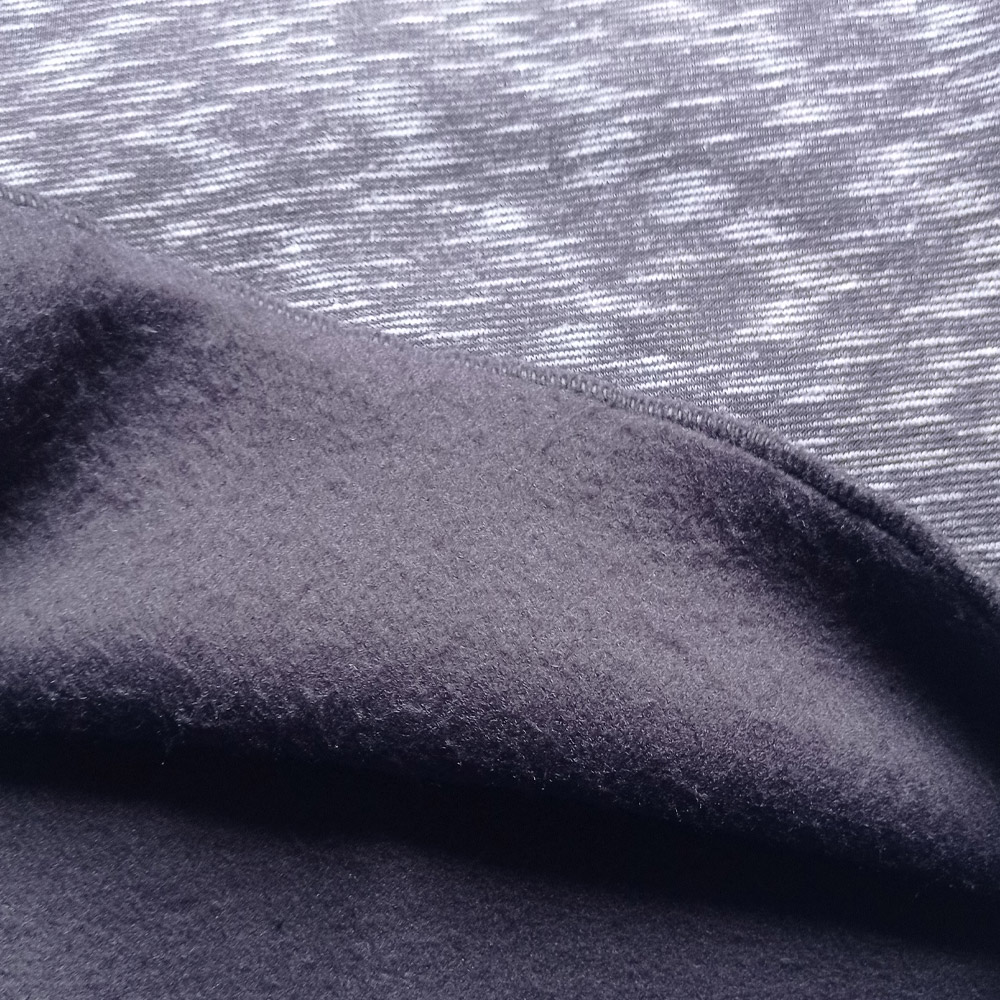 Kit Conjunto de Moletom Flanelado Grosso + Calça e Blusa de moletom flanelado grosso Cinza Manabana  - Manabana