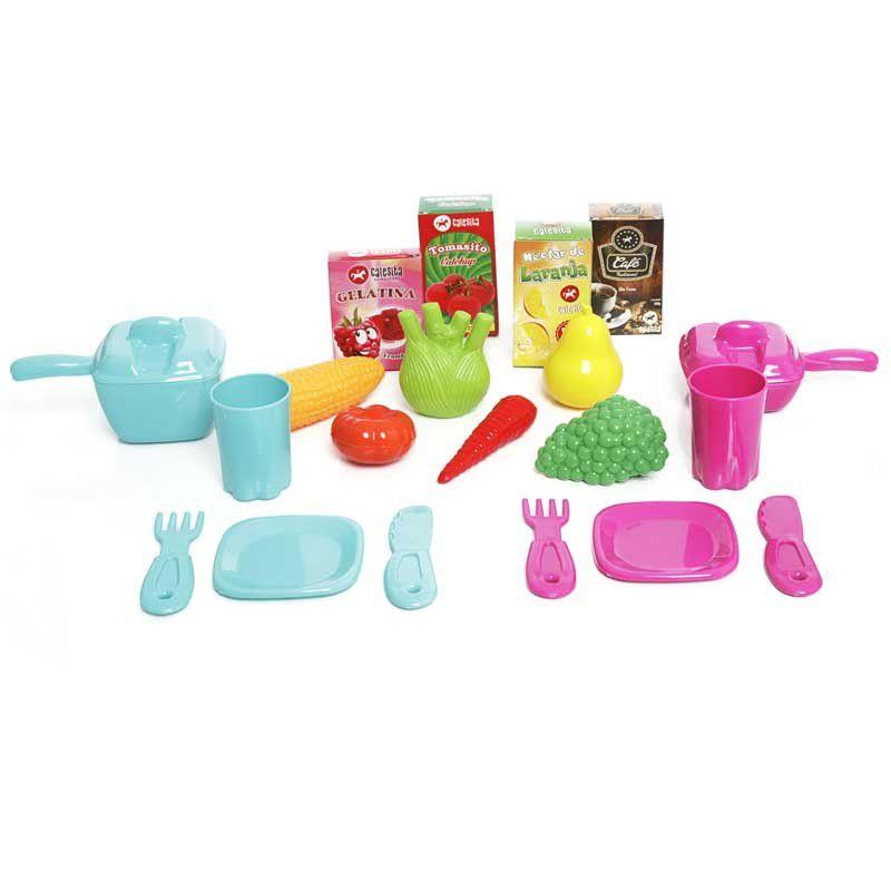 Cozinha Infantil Fogao Geladeira Pia Mobility Chef Calesita Lojas