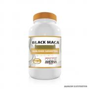 Black Maca 500mg Maca Peruana Preta 100% Pura 60 Cápsulas