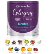 Colágeno Hidrolisado Sanavita 300g Diversos Sabores