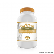 Saw Palmetto 160mg com 60 Cápsulas - 100% Vegano