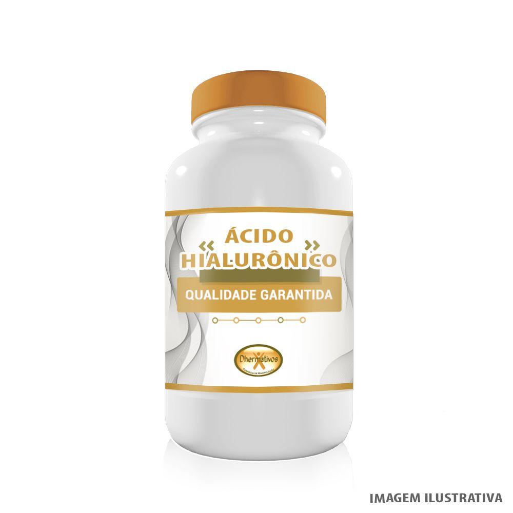 Ácido Hialurônico 50mg Hidratação em Cápsulas Anti Rugas e Anti-Aging