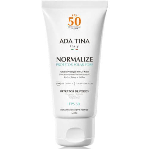Ada Tina Normalize Pore Fps 50 Protetor Solar 50ml