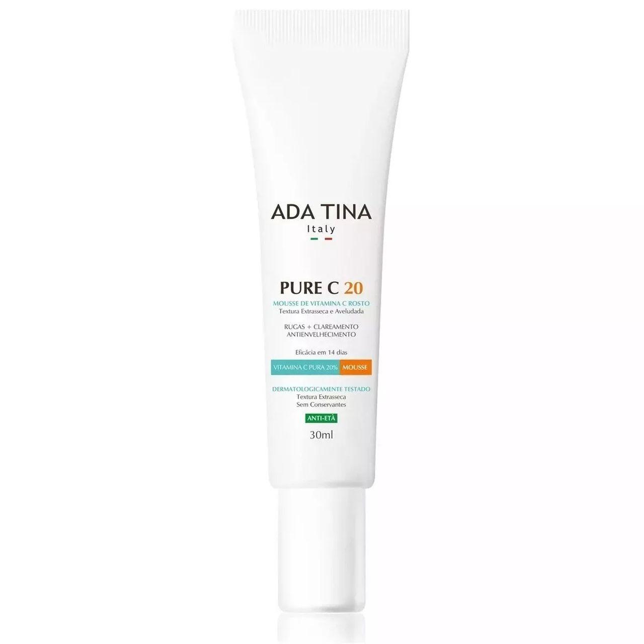 Ada Tina Pure C 20 Vitamina C Em Mousse