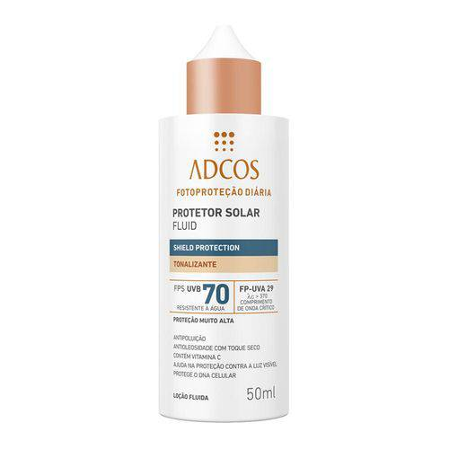 Adcos Fluid Shield Protection Tonalizante Universal FPS70 50ml