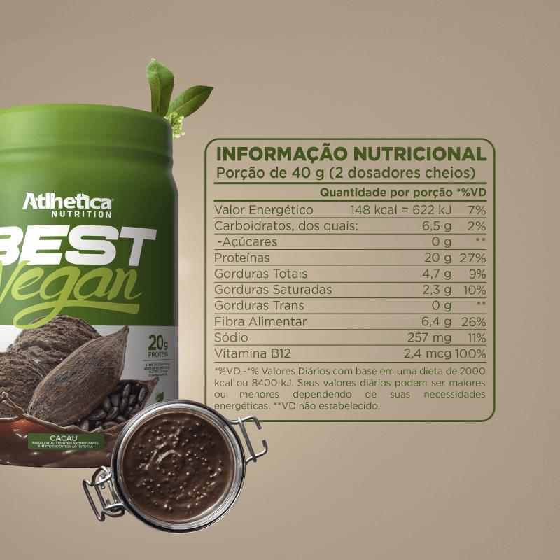 BEST VEGAN (500 G) CACAU - Whey Protein Vegano