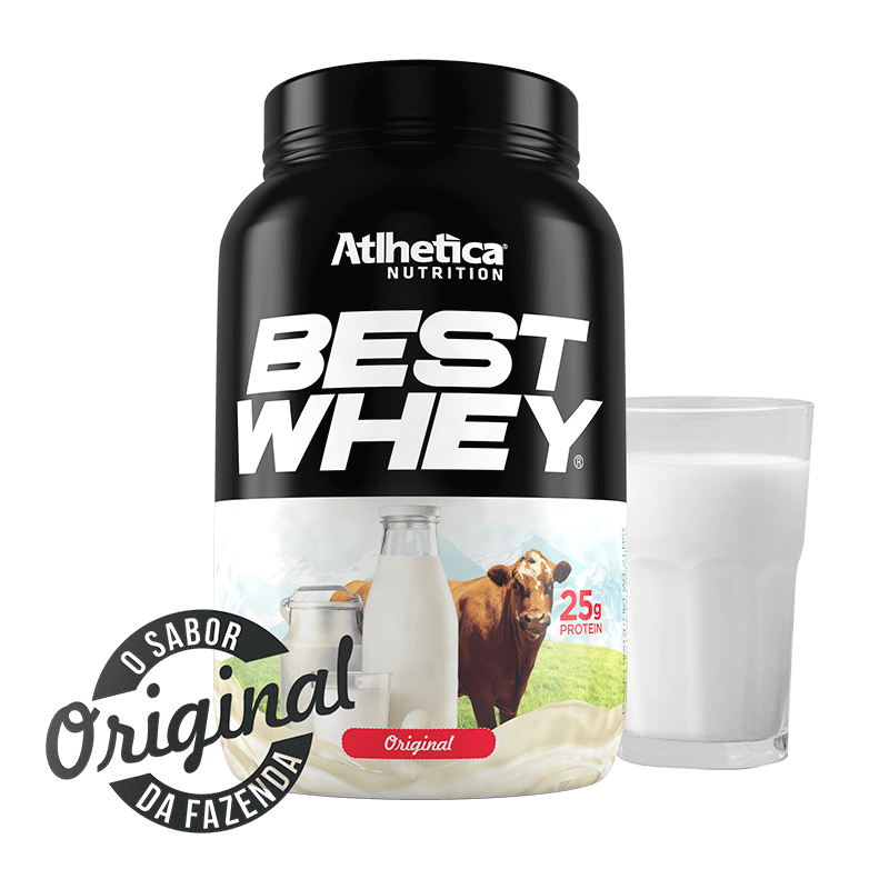 Best Whey (900g) Atlhetica  ORIGINAL