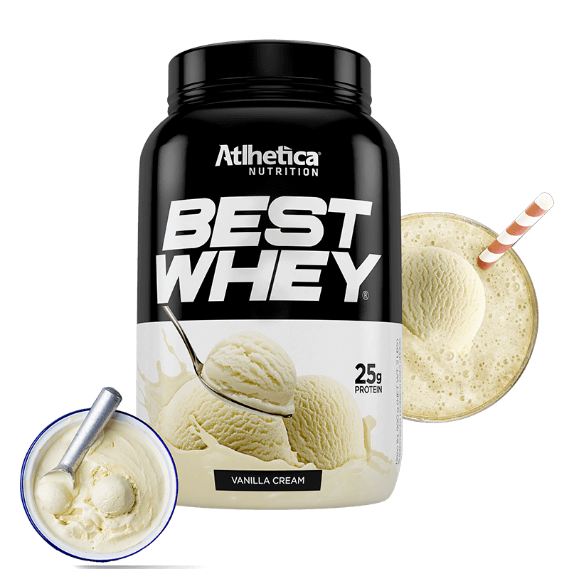 Best Whey (900g) Atlhetica  VANILLA CREAM