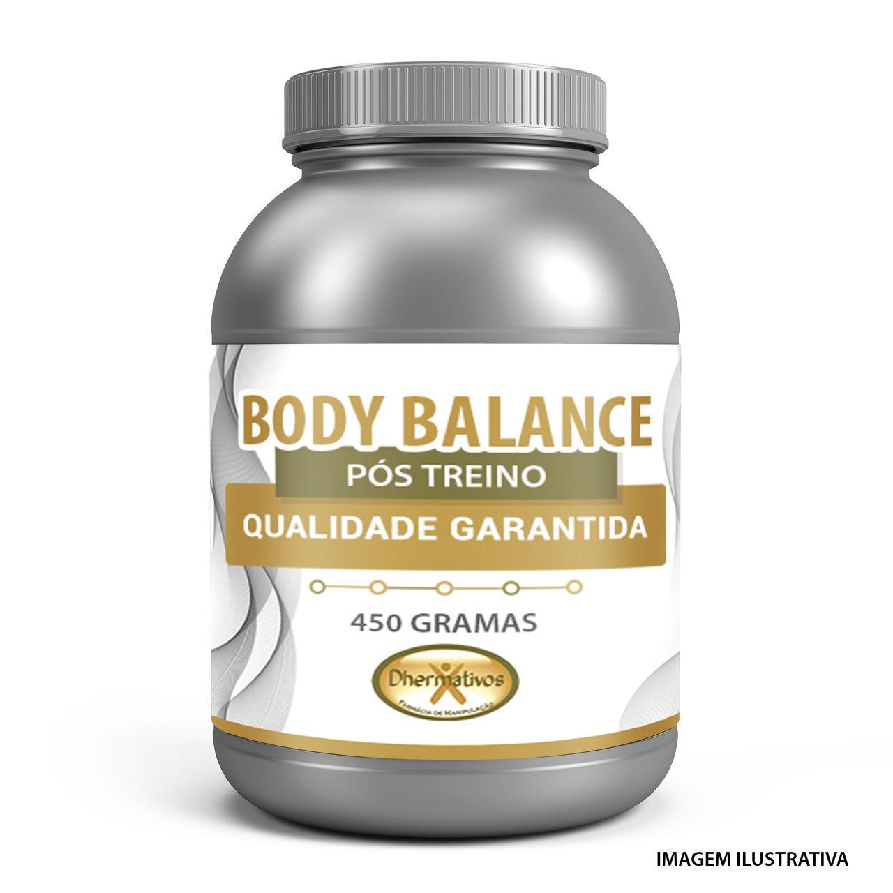 Body Balance 450g Ganho de Massa Pós Treino Peptídeos Bioativos de Colágeno