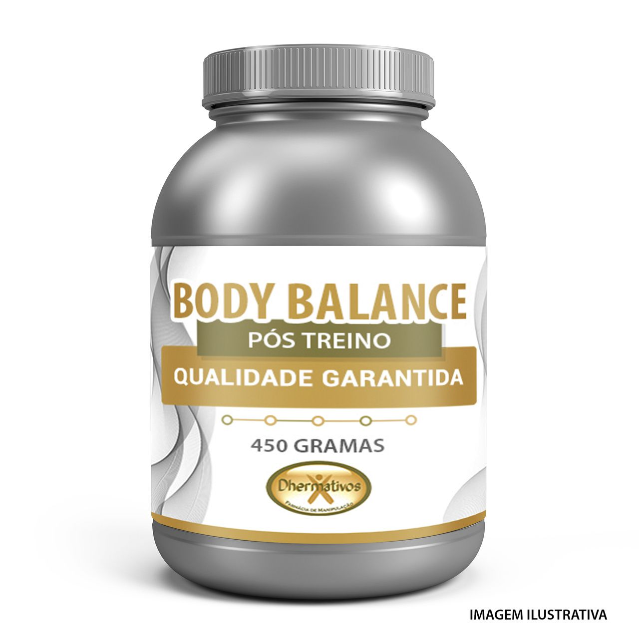 Body Balance 450g Pós Treino Peptídeos Bioativos de Colágeno Sabor Uva