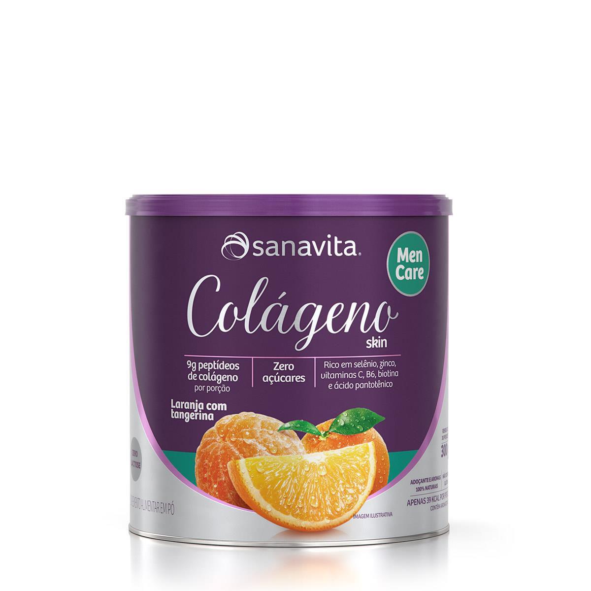 Colágeno Hidrolisado Men Care Sanavita 300g