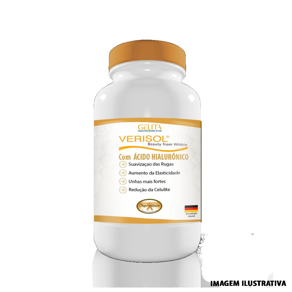 Colágeno Hidrolisado Verisol C/ Ácido Hialurônico 180 Cápsulas
