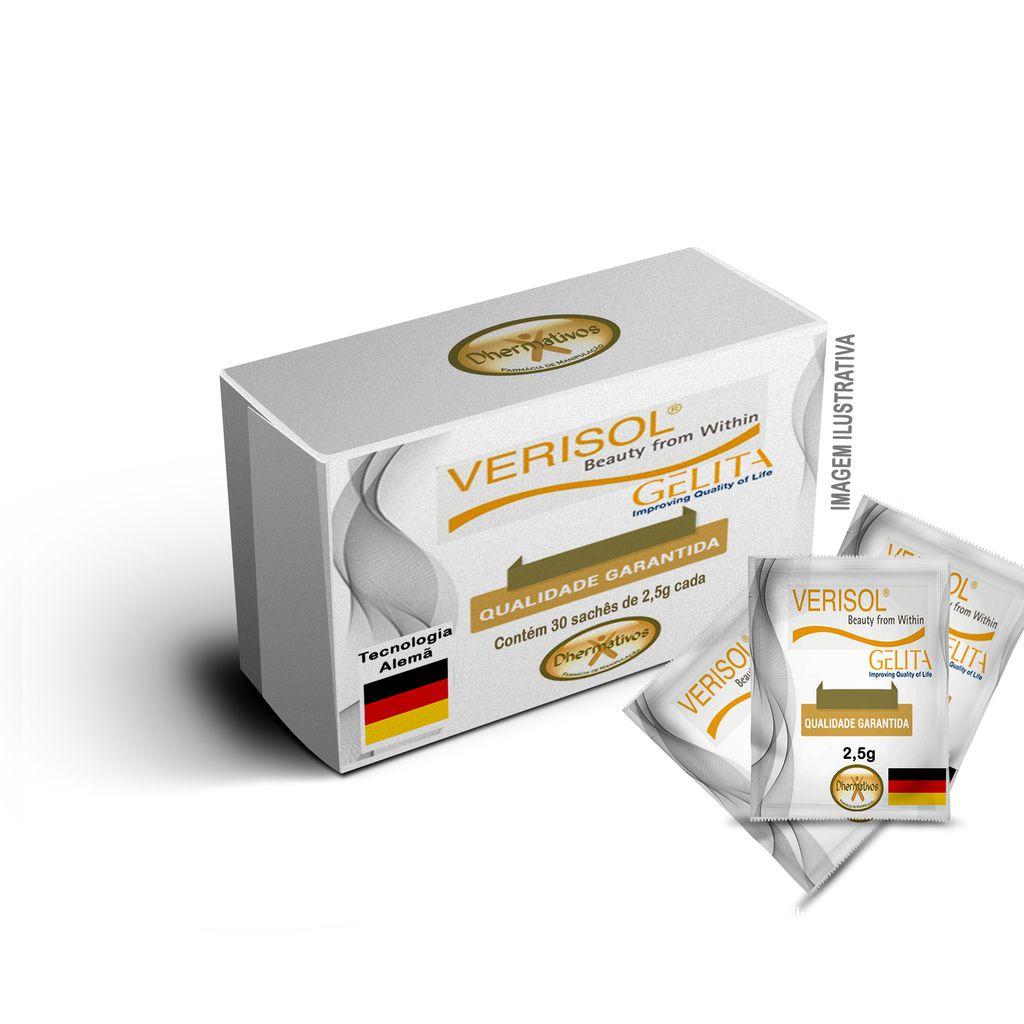Colágeno Verisol Puro 30 Sachês 2,5g Cada
