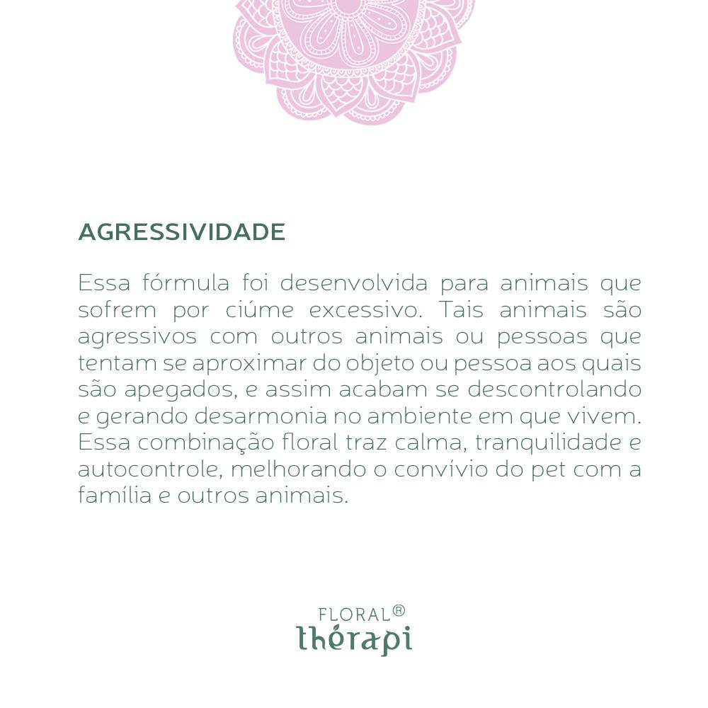 Floral Thérapi DIGNO (pets) Quantidade: 30mL Agressividade