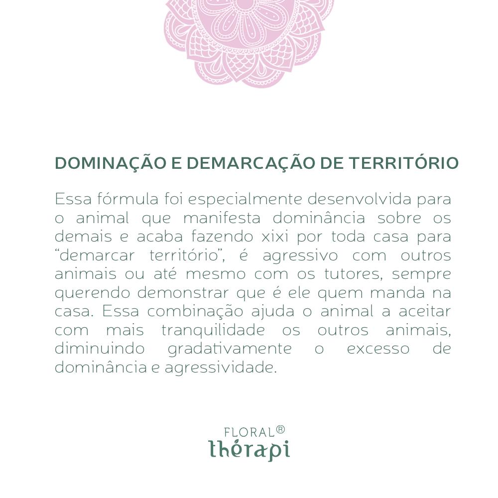 Floral Thérapi DIGNO (pets) Quantidade: 30mL Dominação e Demarcação de Território