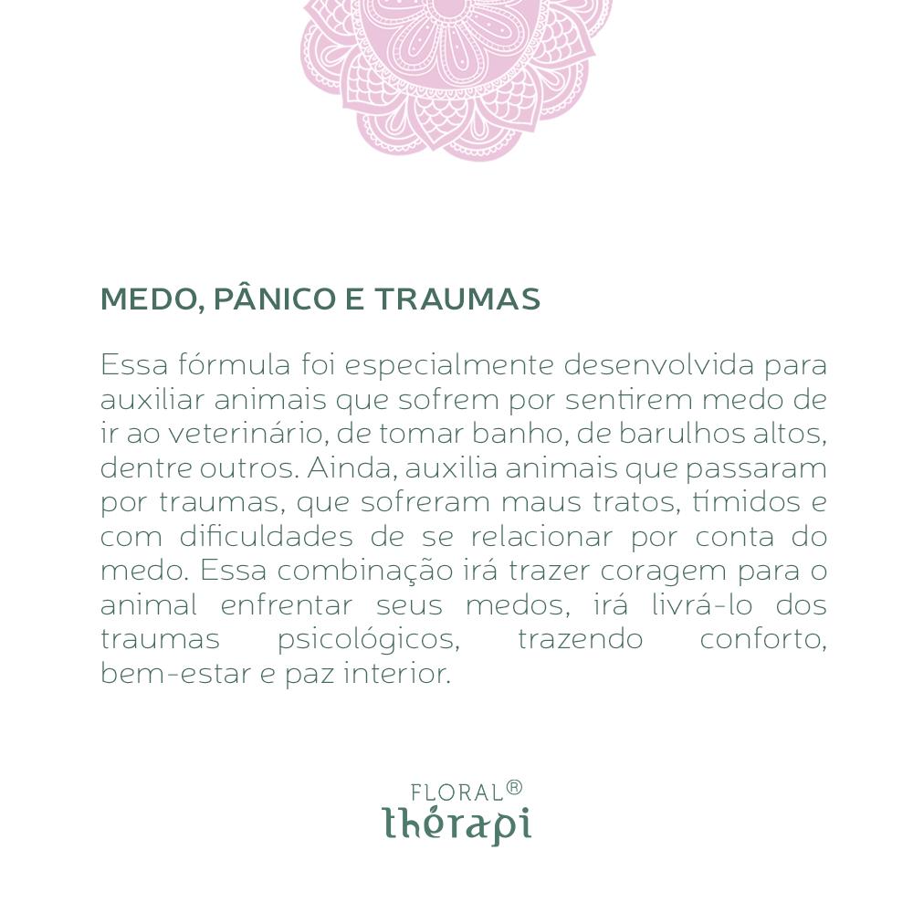 Floral Thérapi DIGNO (pets) Quantidade: 30mL Medo, Pânico e Traumas