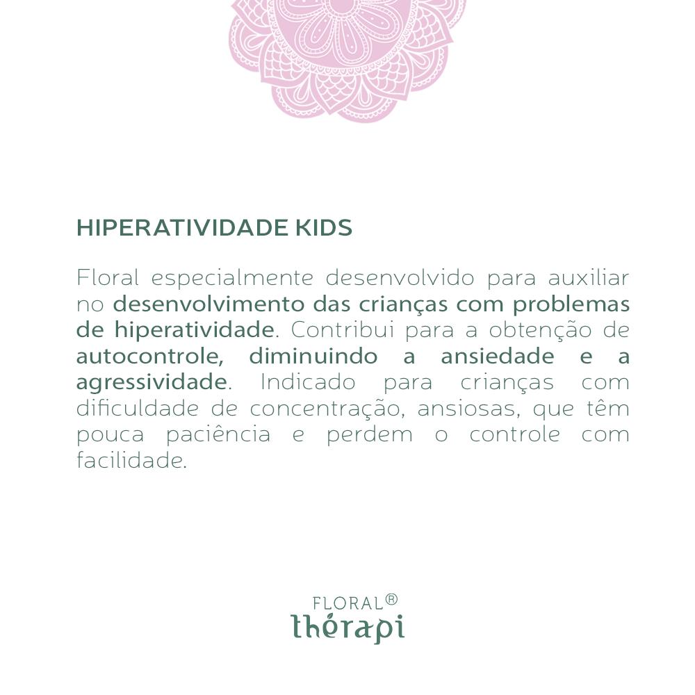 Floral Thérapi KIDS Quantidade: 30mL Hiperatividade