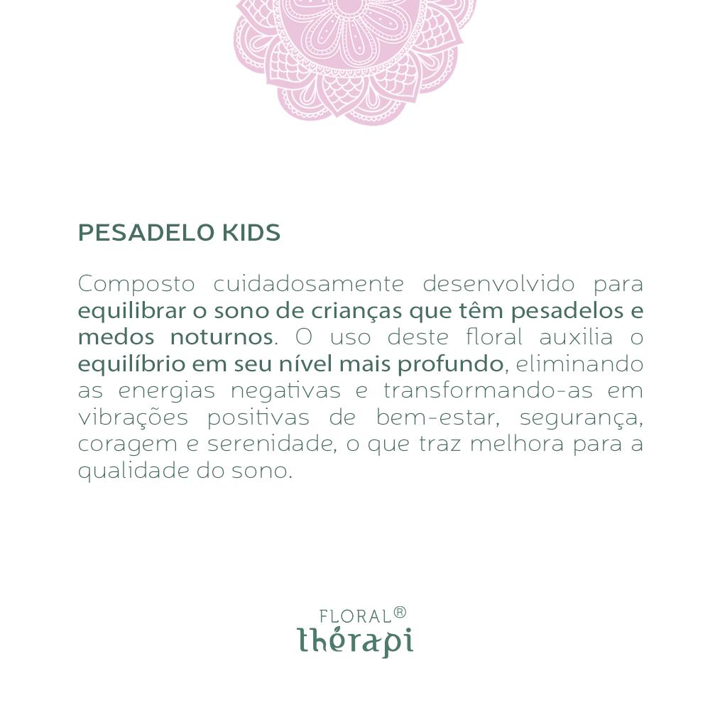 Floral Thérapi KIDS Quantidade: 30mL Pesadelos