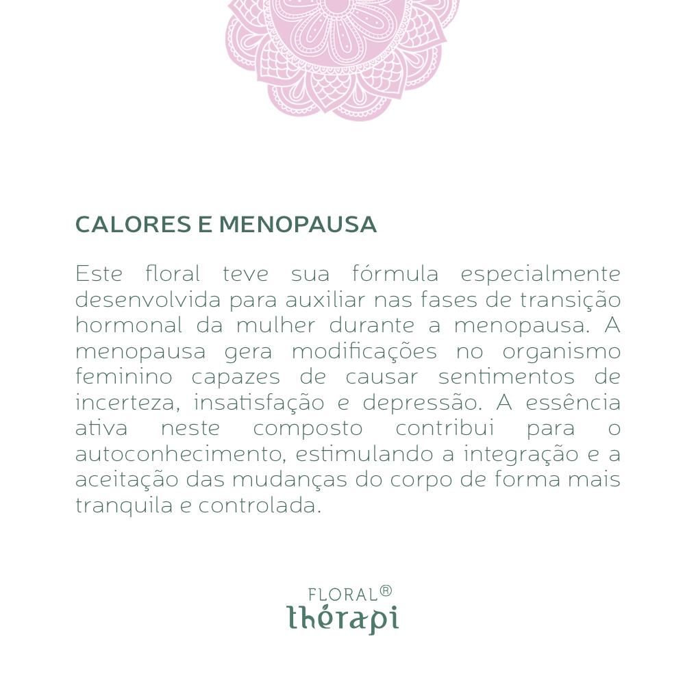 Floral Thérapi Quantidade: 30mL Calores e Menopausa