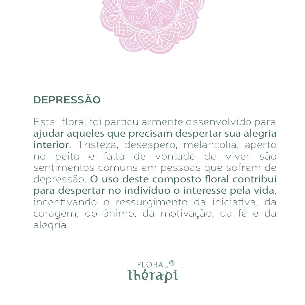 Floral Thérapi Quantidade: 30mL Depressão