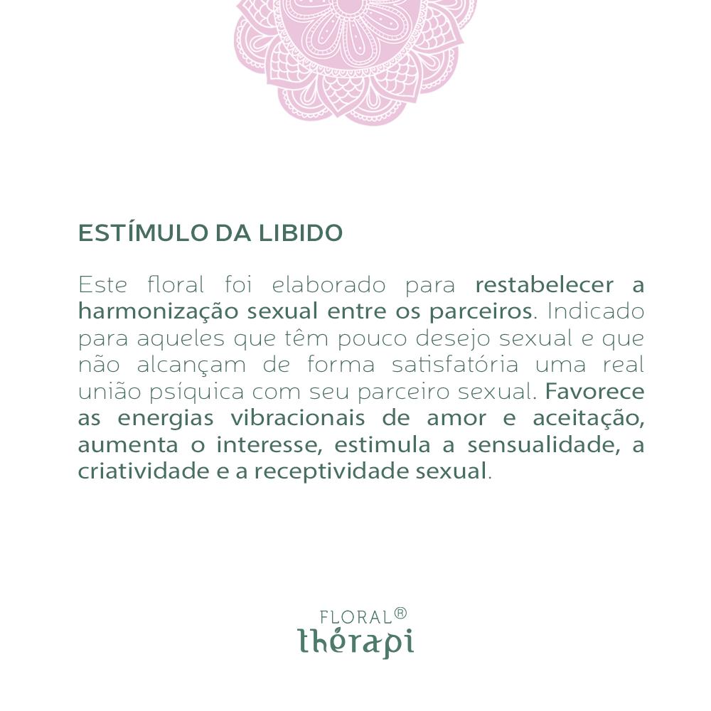 Floral Thérapi Quantidade: 30mL Estímulo da Libido