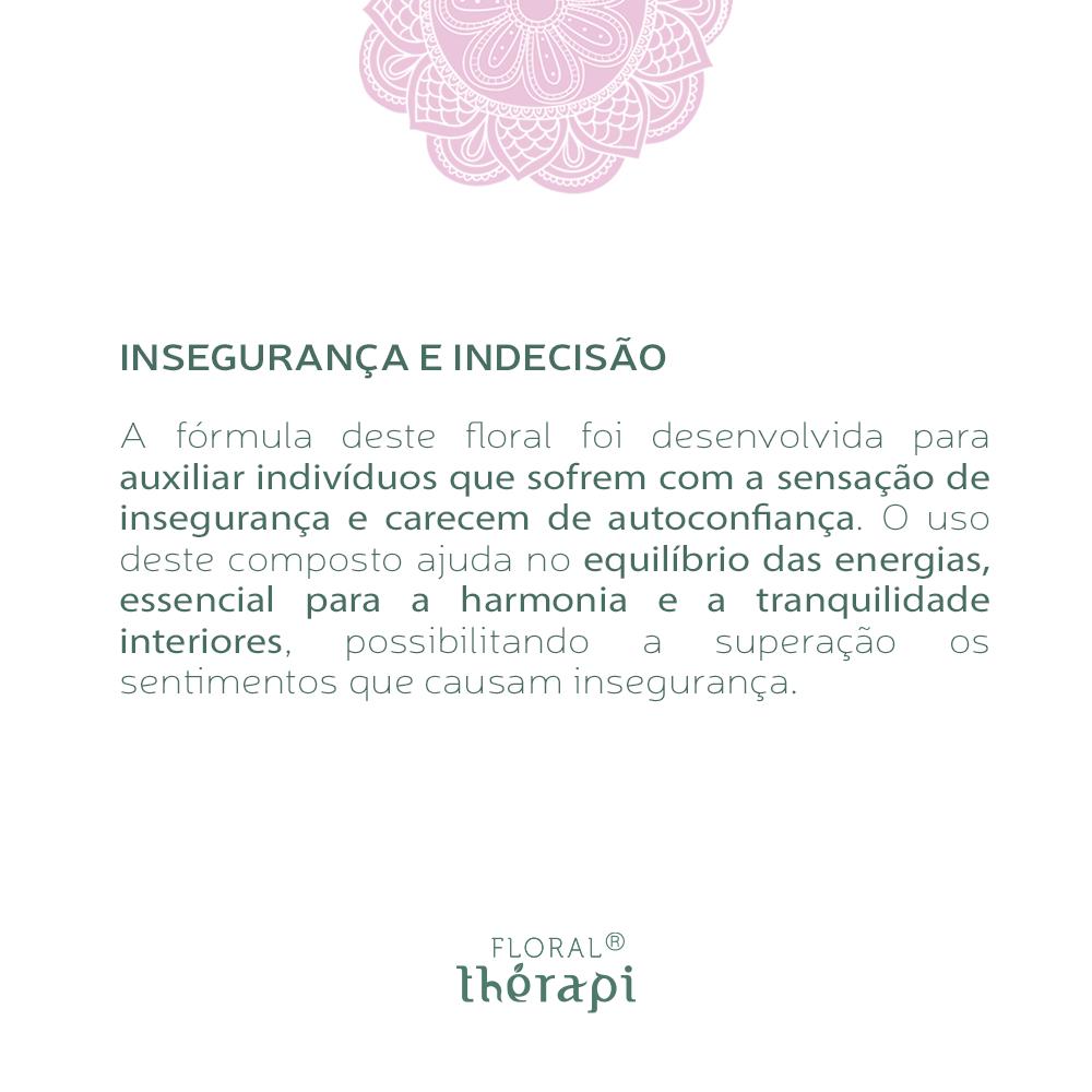 Floral Thérapi Quantidade: 30mL Insegurança e Indecisão