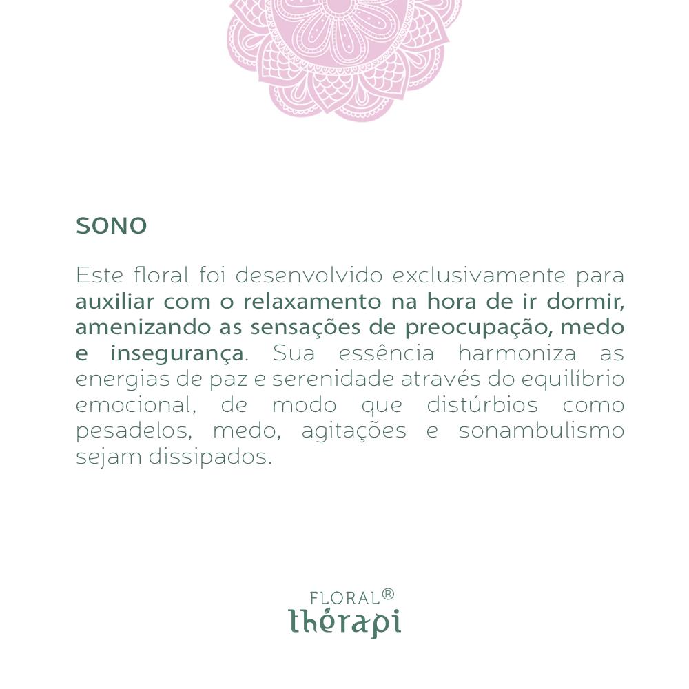 Floral Thérapi Quantidade: 30mL Sono