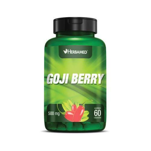 Goji Berry 60 Cápsulas 500mg Herbamed