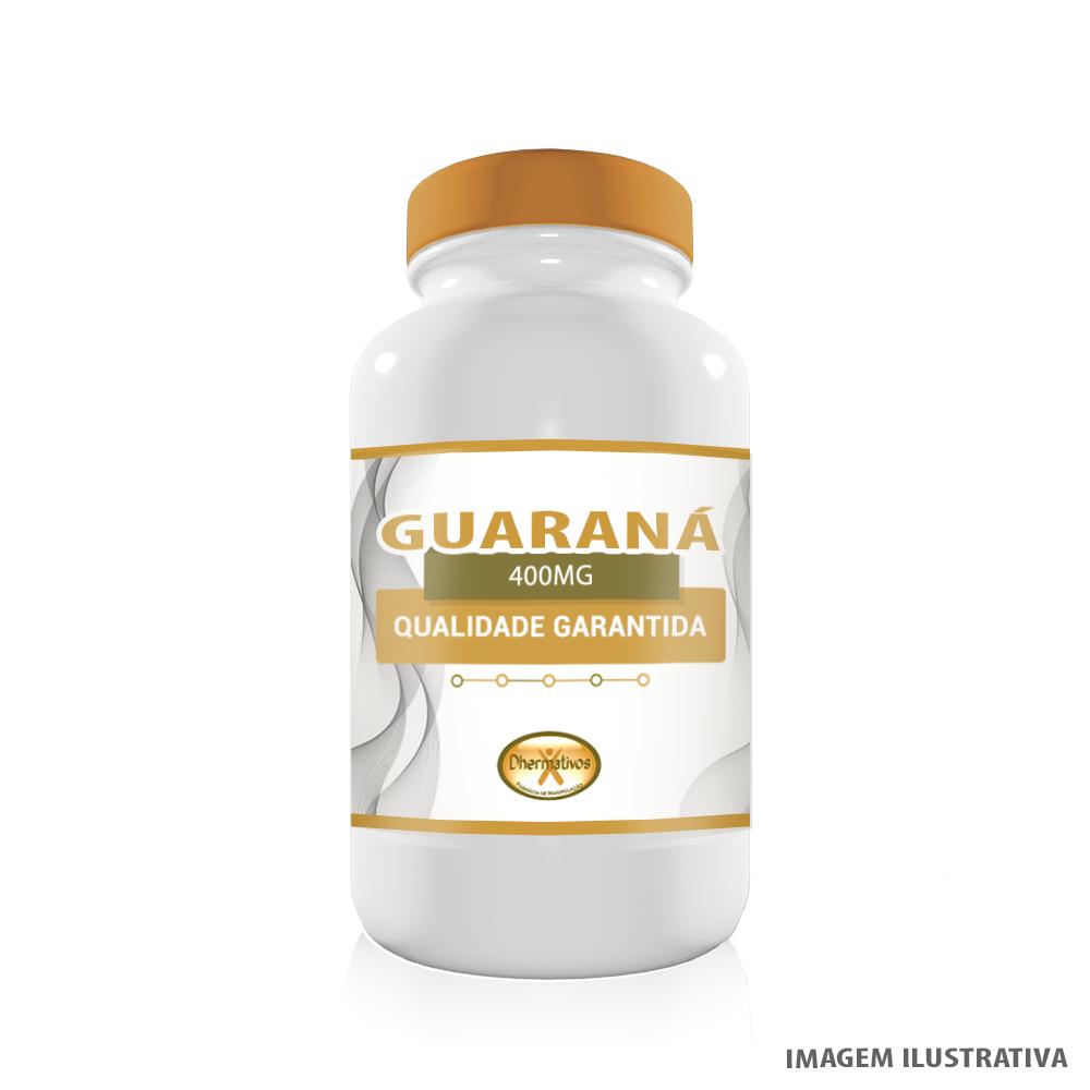 Guaraná 400mg Termogênico Estimulante Natural e Afrodisíaco Quantidade: 60 Cápsulas