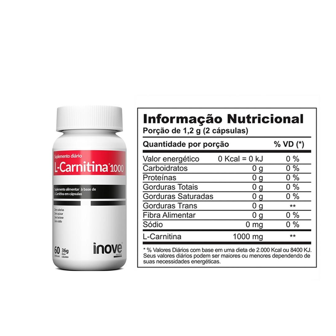 L-Carnitina 1000 Inove Nutrition 60 caps