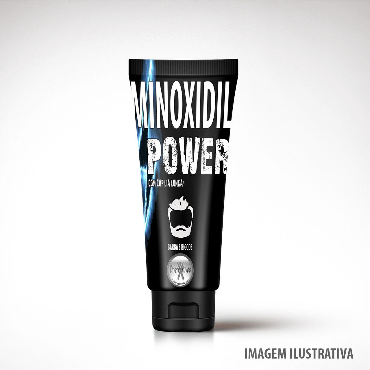 MInoxidil Power Para Barba e Bigode 100ml