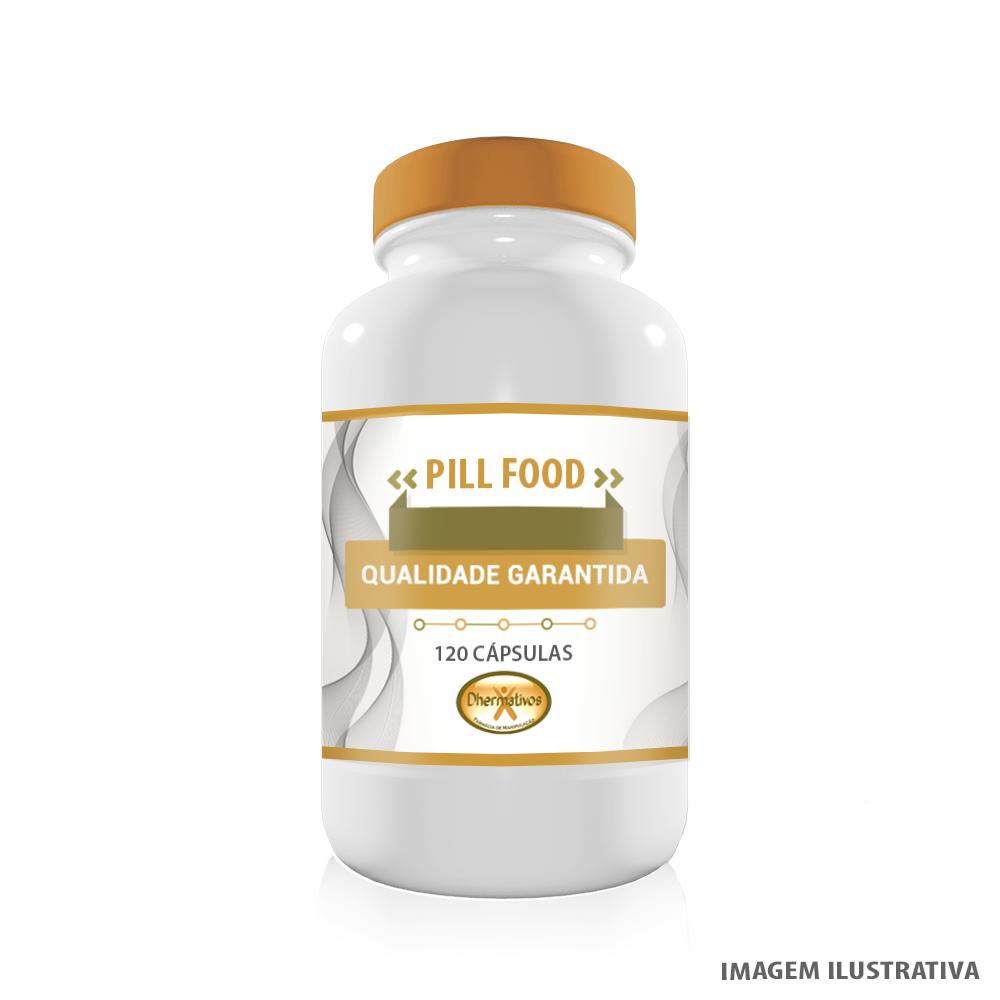 Pill Food Crescimento e Fortalecimento Pele Unhas e Cabelos 120 Cápsulas