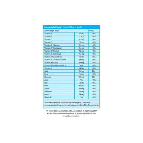 Supra Az Polivitamínico 60 Cápsulas - Herbamed