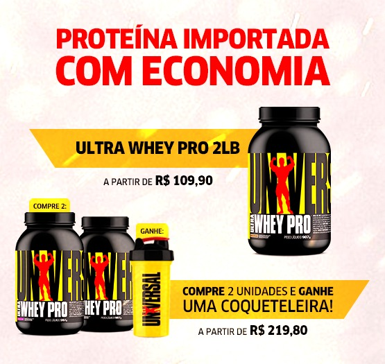 Promoção - Ultra Whey