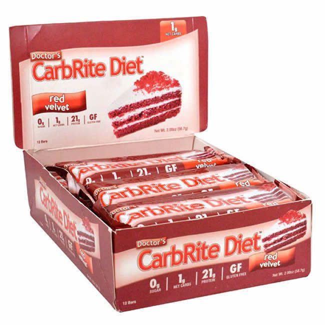 Barra de Proteína Carbrite Red Velvet (Caixa com 12)