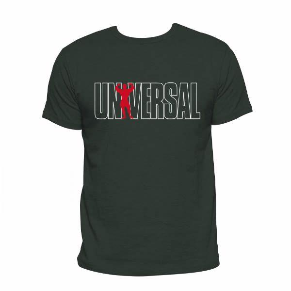 Camiseta Universal Nutrition - Verde Militar
