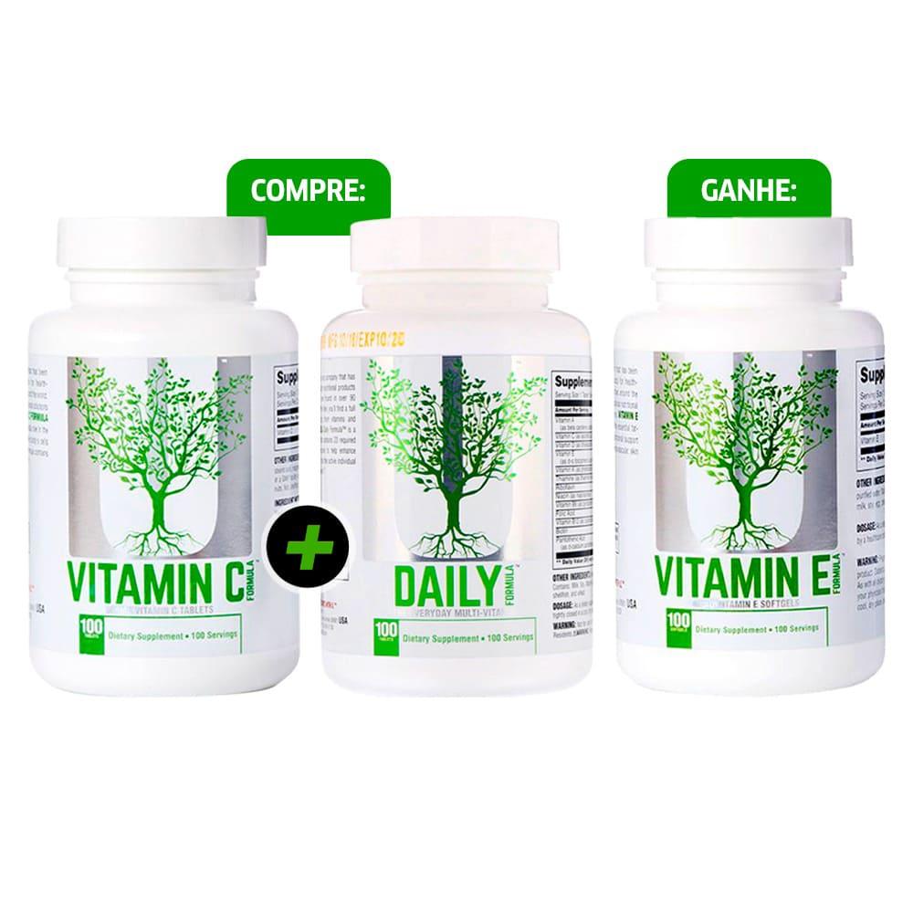 Daily Formula + Vitamina C + VITAMINA E GRÁTIS!