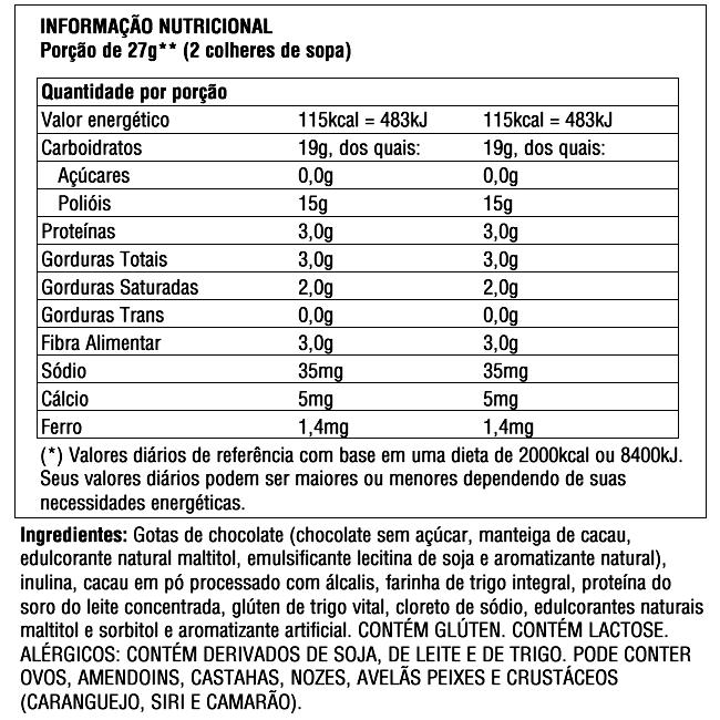 Massa para Brownie - Sem açúcar