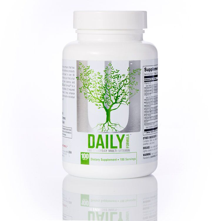 Multivitamínico Daily Formula - 100 tabletes