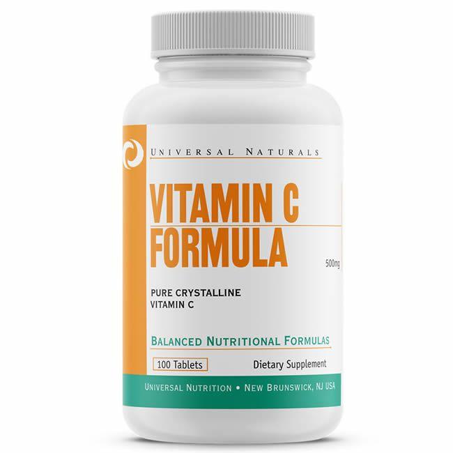 Vitamina C 500mg - 100 tabletes