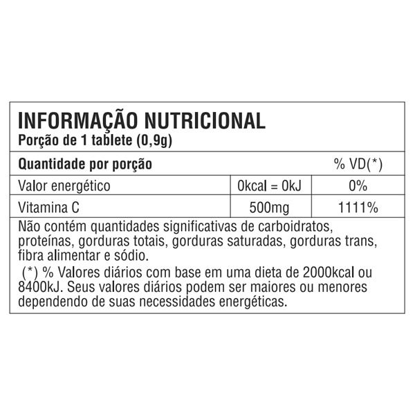 Vitamina C 500mg - 100 tabletes