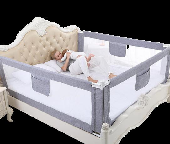Grade de Proteção para cama - Tamanho PADRÃO e SOLTEIRO