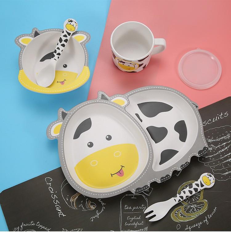Kit Alimentação Infantil Animal Fun