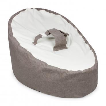 OUTLET - Puff Ninho para Bebê BRANCO