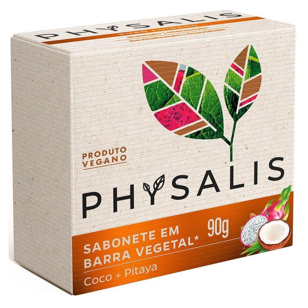 Sabonete Em Barra Physalis - Puro Cuidado (90g)