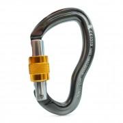 Mosquetão Alumínio D Curvo 25KN Keylock (CE EN NBR) - SideUp
